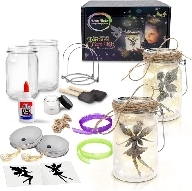 Fairy Nightlight Lantern Craft Kit