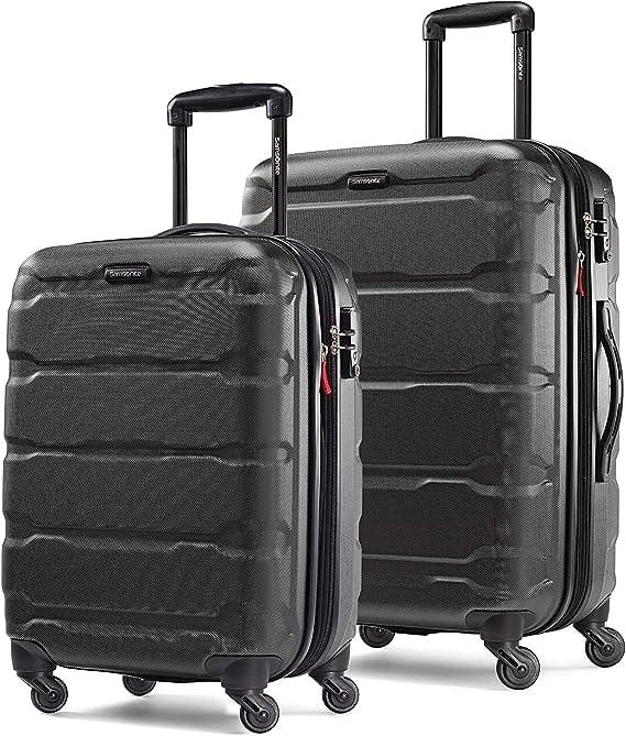 Samsonite Omni PC Expandable Hardside Luggage Set with Spinner Wheels