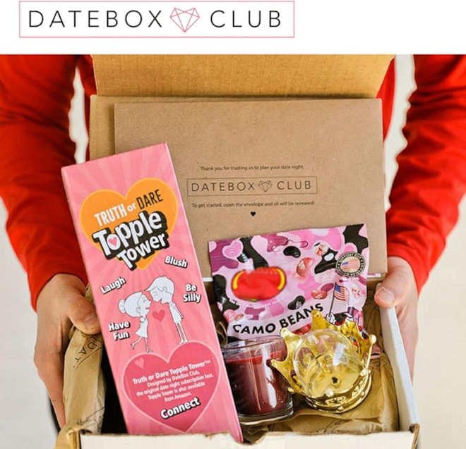 DateBox Club Monthly Subscription Box