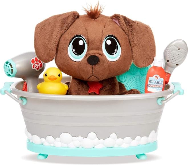 Rescue Tales Scrub 'n Groom Bathtub Playset