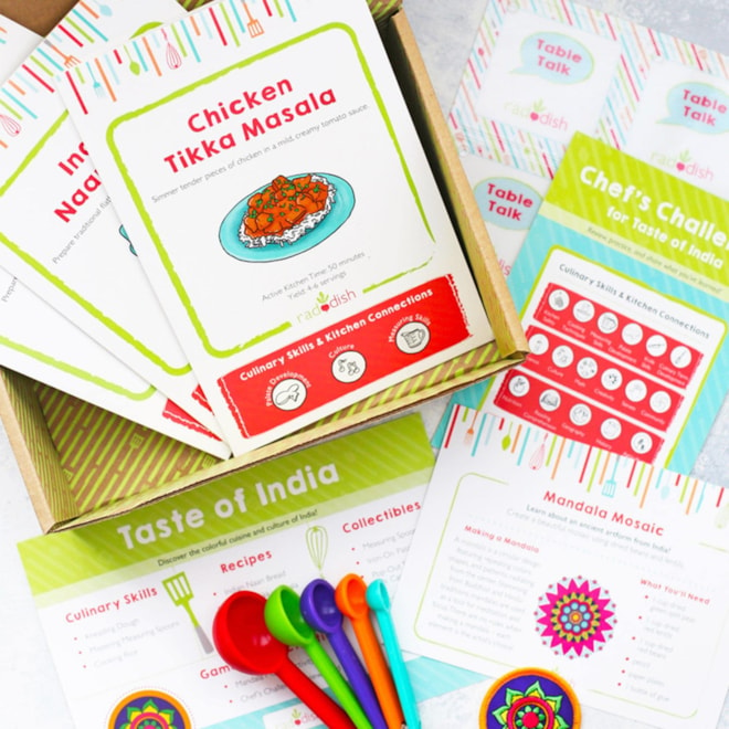 Raddish - Kids Cooking Subscription Box