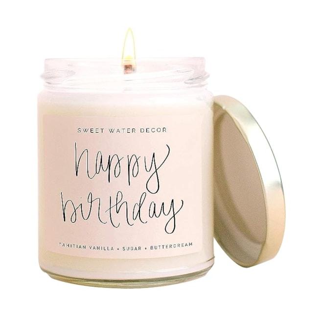 Happy Birthday Vanilla, Sugar, & Buttercream Soy Candle