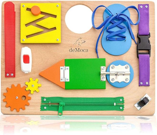 Montessori Busy Board for Toddlers