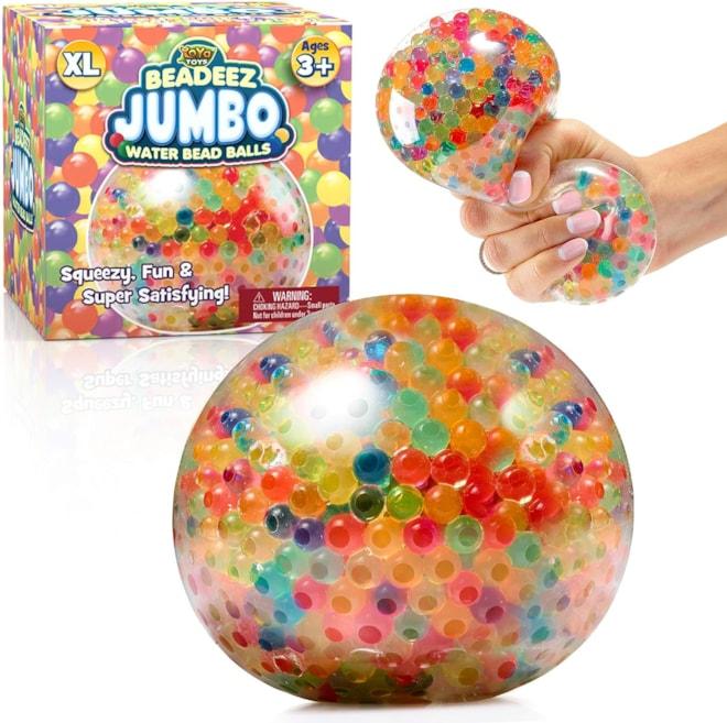 YoYa Toys Beadeez! Squishy Stress Ball for Kids and Adults (Jumbo)