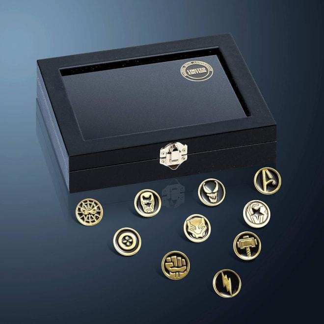 Marvel Avengers Enamel Pins Set
