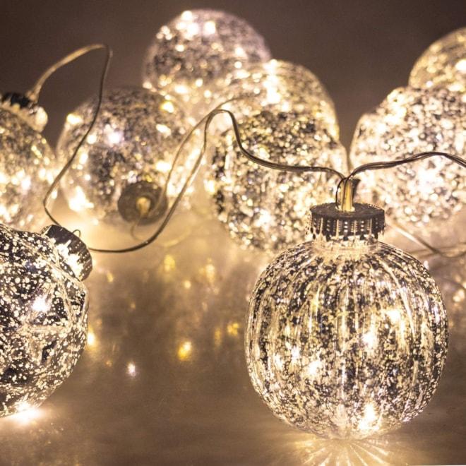 Mercury Ball Fairy Light String