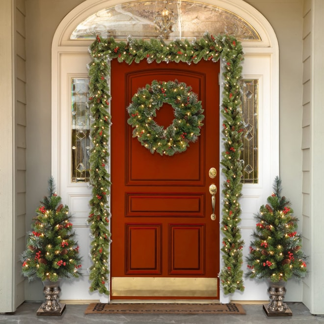 National Tree 9 Foot by 10 Inch Crestwood Spruce Garland