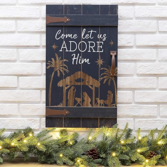 Rustic Christmas  Wall Sign