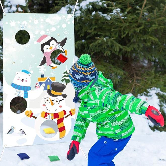 Snowman Toss Games