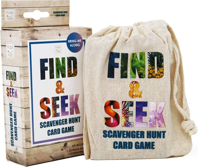 Find and Seek Scavenger Hunt