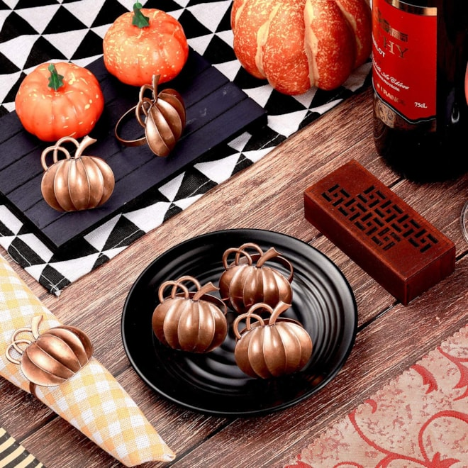 Pumpkin Napkin Ring Holders