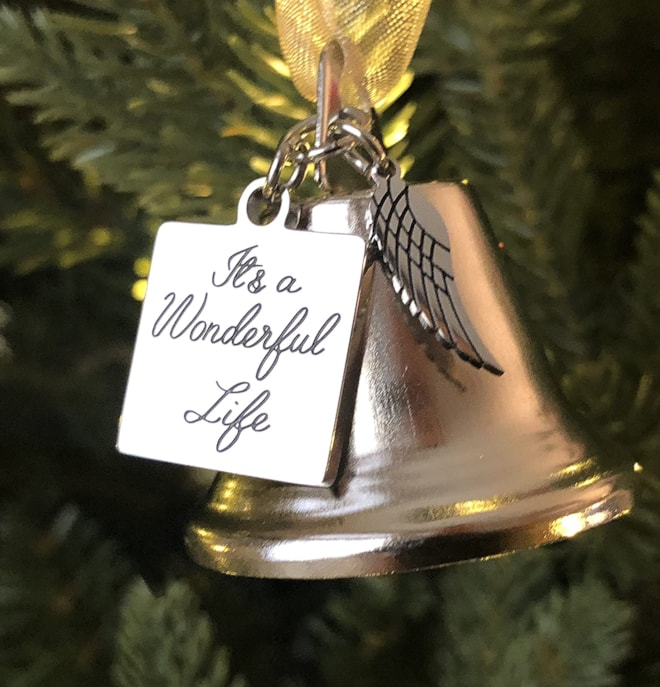 """It's a Wonderful Life"" Angel Bell"