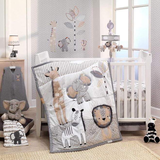 Lambs & Ivy Jungle Safari Nursery Set