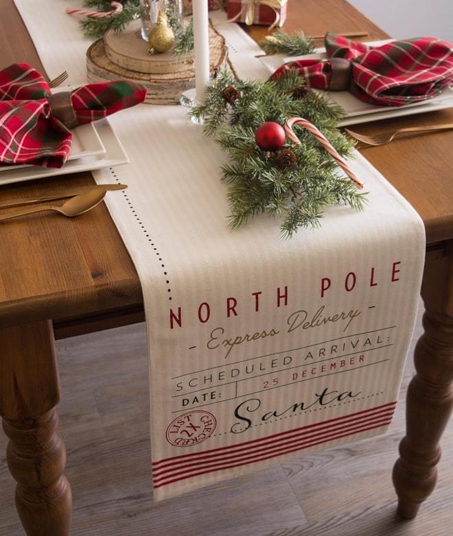 Santa's Workshop Table Runner