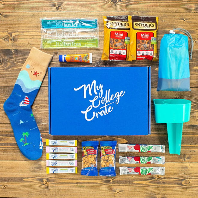 My College Crate Monthly Care Package Subscription Box