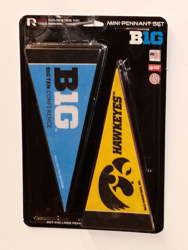 NCAA Big 10 Mini Pennant Set