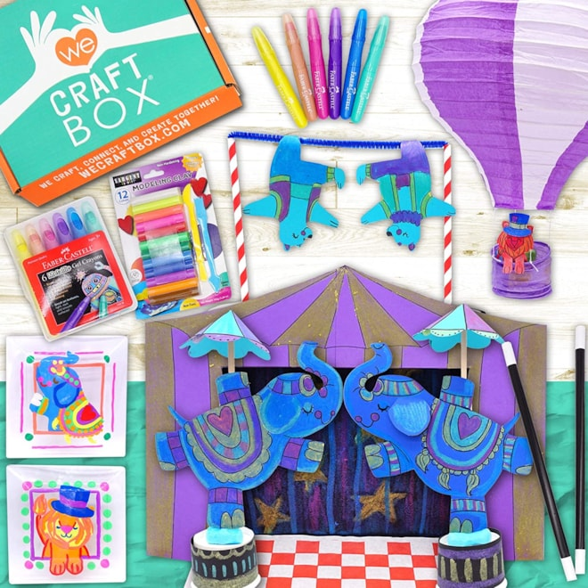 We Craft Box Kid's Craft Subscription Box