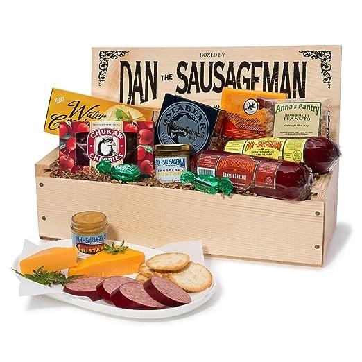 Dan the Sausageman's Favorite Gourmet Gift Basket