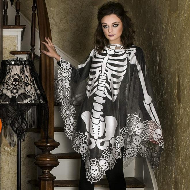 Lace Skeleton Poncho