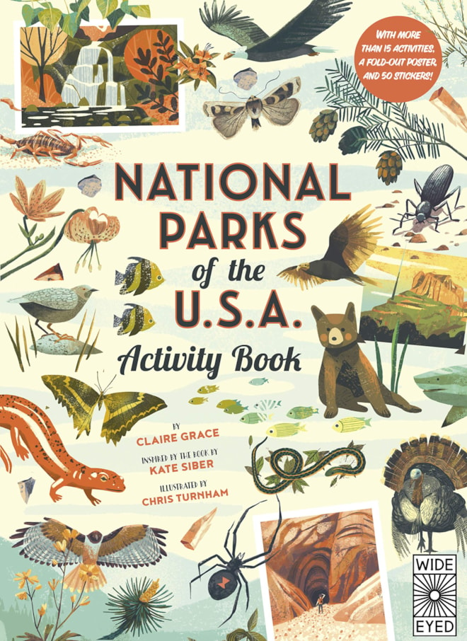 Activity Book National Parks of the USA