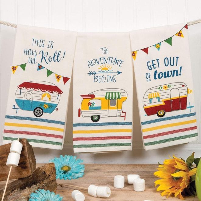 Camping Kitchen Tea Towels