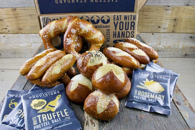 Eastern Standard Provisions Gourmet Soft Pretzel Gift Box