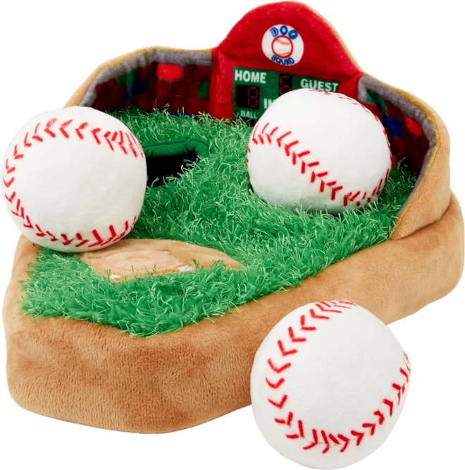 Dog Toy Baseball Stadium