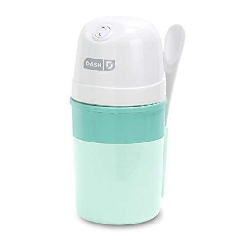 DASH My Pint Electric Ice Cream Maker Machine for Gelato, Sorbet + Frozen Yogurt with Mixing Spoon &