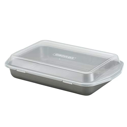 Circulon Total Nonstick Baking Pan With Lid / Nonstick Cake Pan With Lid, Rectangle - 9 Inch x 13 In