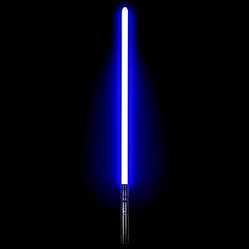 Dueling LED Lightsabers - Force FX Lightsaber with 6 Sound Fonts Rechargeable Metal Aluminum Saber H
