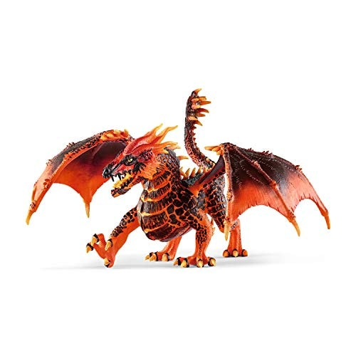 Schleich Eldrador Creatures Lava Dragon Toy Action Figurine for Kids Ages 7-12