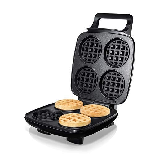 Burgess Brothers ChurWaffle Maker · Specialty Waffle Maker · Makes 4 Waffles at a Time · Premium Non