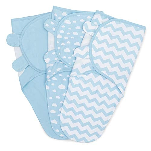 Swaddle Blanket Baby Girl Boy Easy Adjustable 3 Pack Infant Sleep Sack Wrap Newborn Babies by Comfy