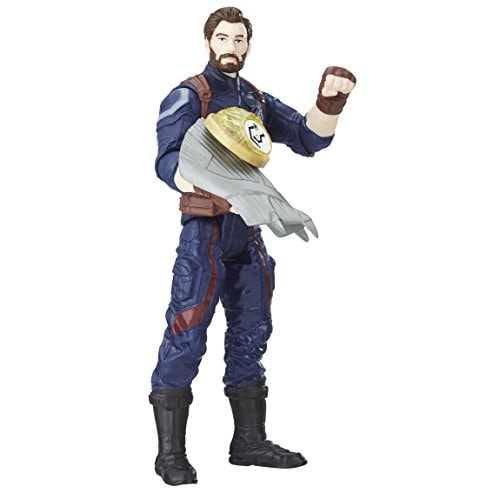 Marvel Avengers: Infinity War Captain America with Infinity Stone