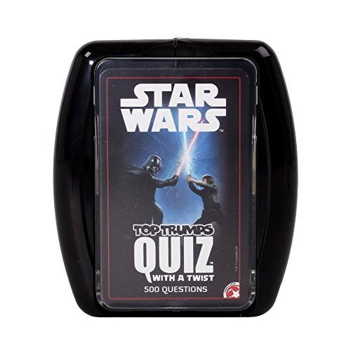 Top Trumps Star Wars Quiz Game