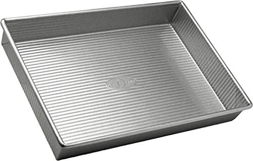 USA Pan Bakeware Rectangular Cake Pan, 9 x 13 inch, Nonstick & Quick Release Coating, Made in the US