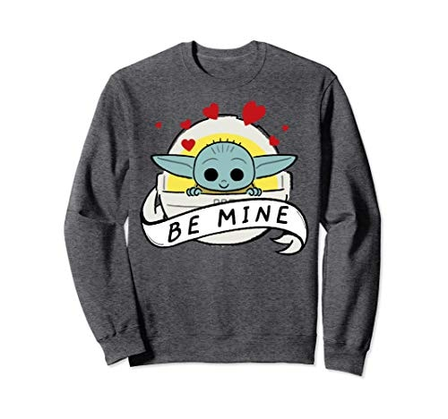 Star Wars The Mandalorian The Child Be Mine Valentine's Day Sweatshirt