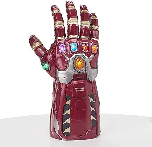 Avengers Marvel Legends Series Endgame Power Gauntlet Articulated Electronic Fist,Brown,18 years and