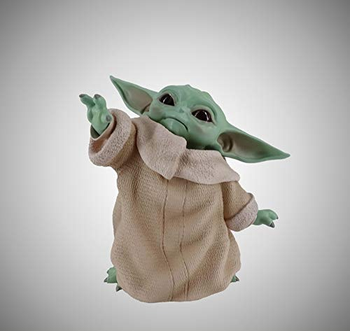 LXSLFY Baby Yoda Collection Action Figure Toys for Children , Little Yoda Baby Dolls, Suitable for M