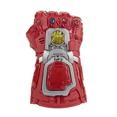Avengers Marvel Endgame Red Infinity Gauntlet Electronic Fist Roleplay Toy with Lights and Sounds fo