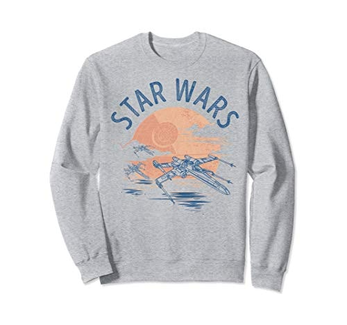 Star Wars X-Wing Sunset Sweatshirt