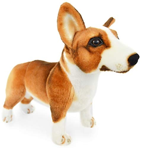 Caerwyn The Pembroke Welsh Corgi - 16 Inch Large Welsh Corgi Dog Stuffed Animal Plush Dog - by Tiger