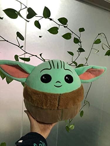 Super Big 10inch(26CM) Baby Yoda Pillow Plush Toy yoda Plush Toy Dolls (10inch Pillow)