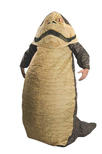 Rubie's Costume Star Wars Jabba The Hut Deluxe Inflatable Adult Costume, Brown, One Size (Fits Up To