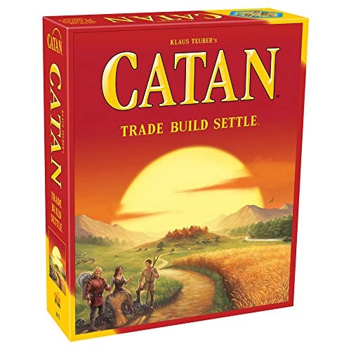 Catan Board Game (Base Game) | Family Board Game | Board Game for Adults and Family | Adventure Boar