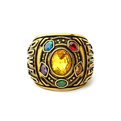 Thanos Rings Have Infinity War Power Ring Power My Hero Academian Cosplay Mystic (alloy 1, 11)