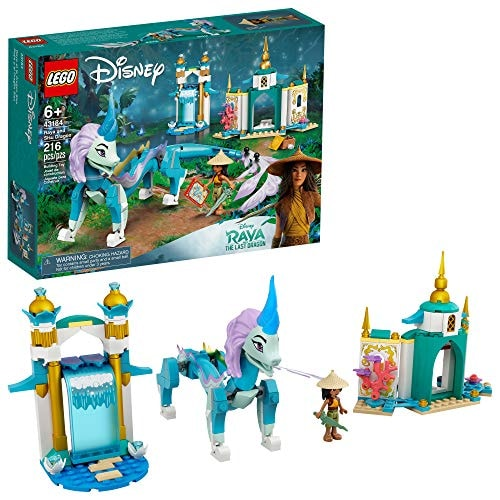 LEGO Disney Raya and Sisu Dragon 43184; A Unique Toy and Building Kit; Best for Kids Who Like Storie