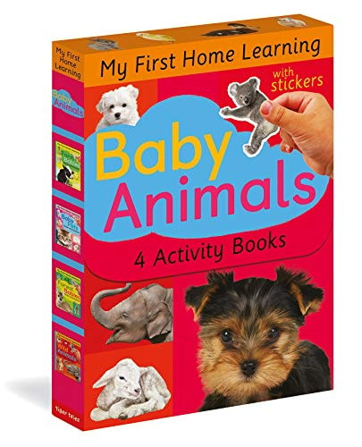 Baby Animals: Baby Pets; Farm Babies; Forest Babies; Wild Animals (My First Home Learning)