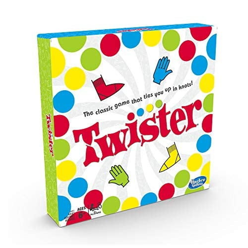 Twister Game, Party Game, Classic Board Game for 2 or More Players, Indoor and Outdoor Game for Kids