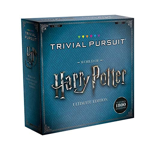 USAOPOLY Trivial Pursuit World of Harry Potter Ultimate Edition | Trivia Board Game Based On Harry P
